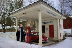 Norway's old petrol station.