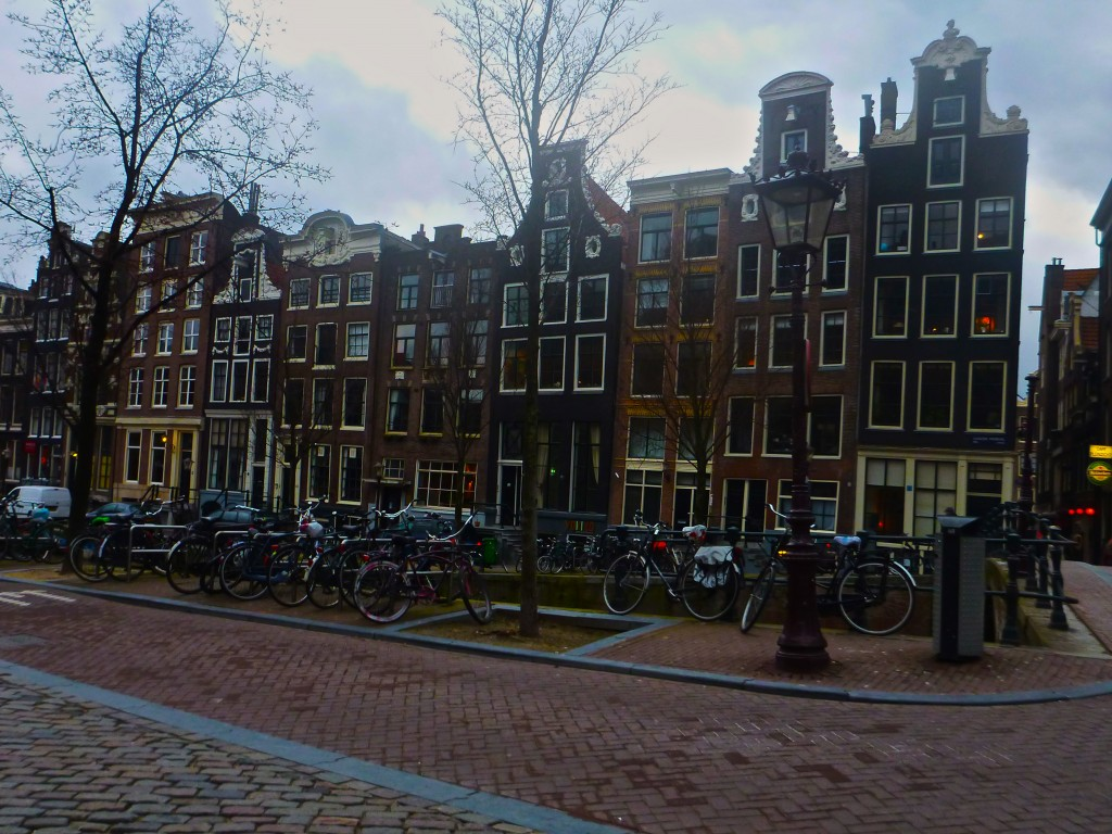The street outside the red light district.