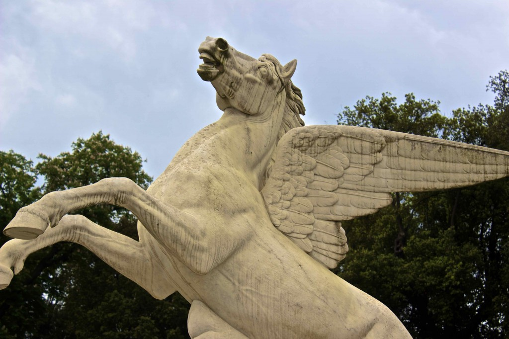 Pegasus in the Boboli gardens.