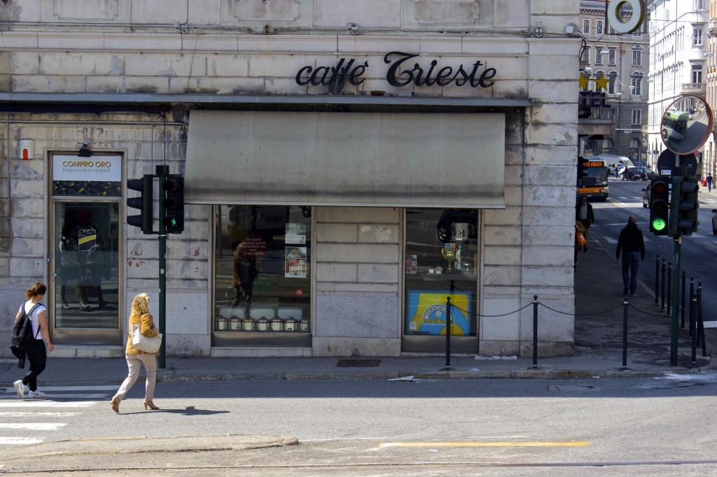 The Caffe Trieste.