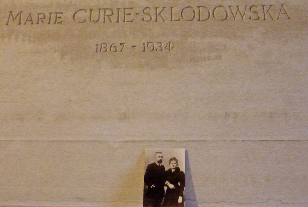 The tomb of Mare Curie.