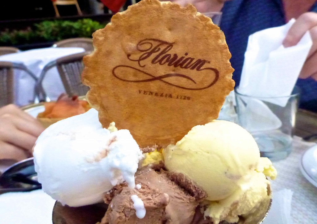 Our Florian ice cream.