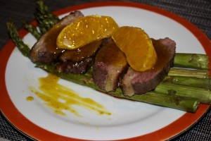 Canard a l'orange prepared by Meadhbh.