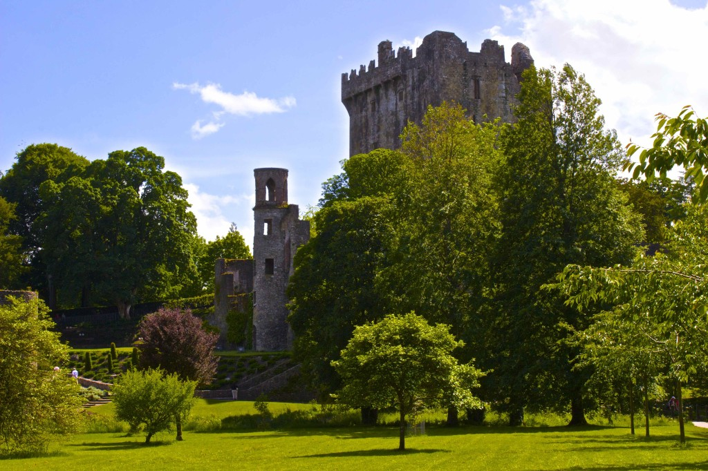 The Blarney Castle.