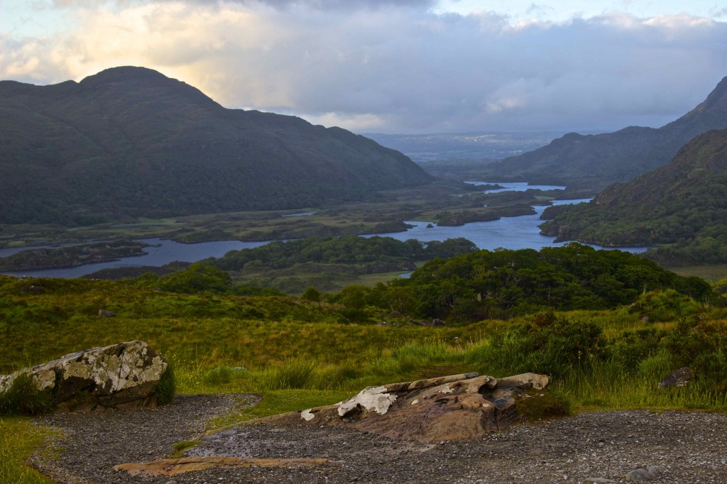 One of the beautiful views at the Ring of Kerry.